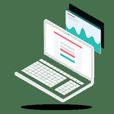 Custom websites designed in-house and developed