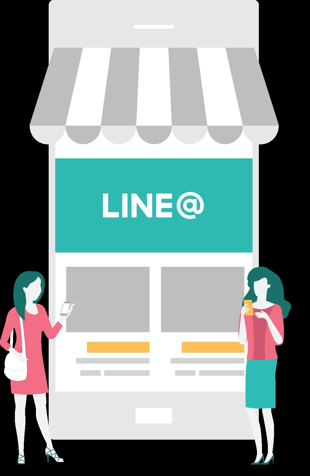 การใช้ประโยชน์จากความนิยมของ LINE